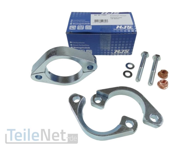 Reparatur Flansch Katalysator Schalldämpfer Ø 65 mm 82007065 Mercedes