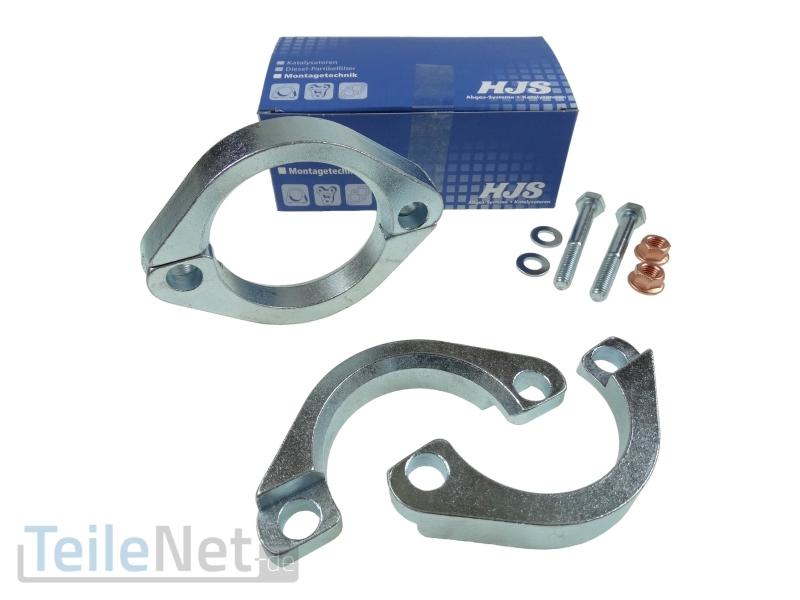 Auspuff Flansch Reparatur Rohr 60mm Abgasrohr HJS 82007060 für Mercedes Benz