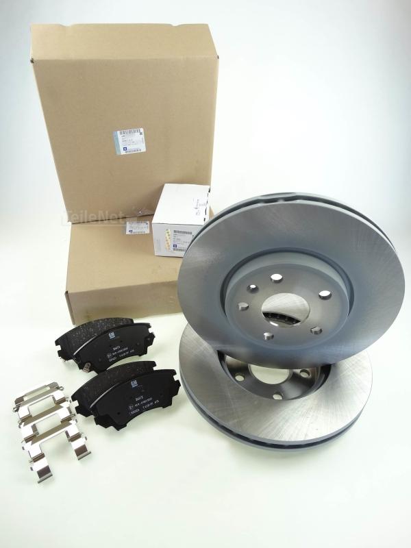 Bremsbeläge Bremsklötze Bremsen für vorne die Vorderachse Opel Astra J