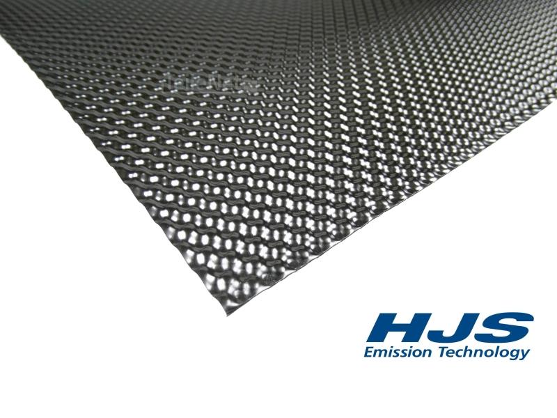1x HJS 83000027 Hitzeblech 1000 x 1000 mm Schutzblech Abgasanlage Hitzeschutz