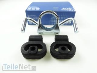 Flexrohr Katalysator Reparatur Rohr HJS 83008412 ohne schweißen für Opel Corsa